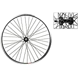 Wheel Master Front Bicycle Wheel 24 x 1.75 36H, Alloy, Bolt On, Black