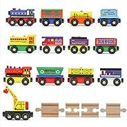 Tiny Conductors Piece Wooden Train Track Set