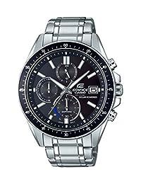 Casio Men's 'Edifice' Quartz Stainless Steel Casual Watch, Color:Silver-Toned (Model: EFS-S510D-1AVCR)