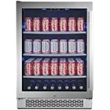 Avallon ABR241SGLH 152 Can Built-In Beverage Cooler - Left Hinge