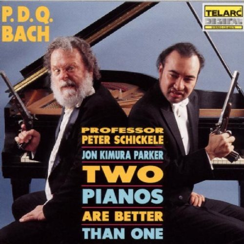 CD : Peter Schickele - 2 Pianos Are Better Than 1 (CD)