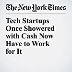 Tech Startups Once Showered with Cash Now Have to Work for It | Katie Benner