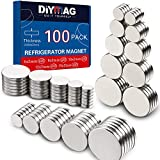 DIYMAG 2MM-Mix 100 Piece Refrigerator Magnets for