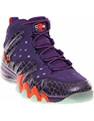 Nike Barkley Posite Max 555097 581 Mens Basketball Trainers Sneakers Court Purple Team Orange Phoenix Suns Colour...