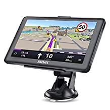 GPS Navigation for Car, AWESAFE 7 inches Touch Screen 8GB Navigation System for Cars Lifetime North America Map Updates