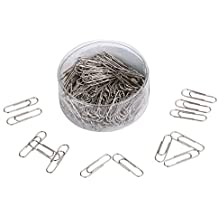 Dxg 190 Pieces Stainless Steel Paper Clips, 28mm
