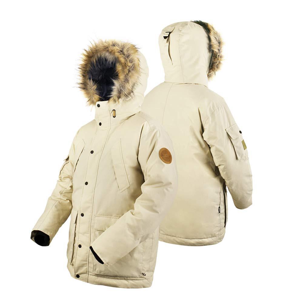 [KELLAN 18-19] メンズボードスーツ/スキーウェア CHASE(チェイス)ジャケット - 11101 ベージュ Large