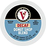 Victor Allen's Coffee Decaf Donut Shop, Medium Roast, 80 Count Single Serve Coffee Pods for Keurig K-Cup Brewers