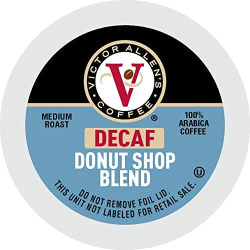 Victor Allen Coffee Decaf Donut Shop Single Serve K-Cup, 80 Count: Amazon.com: Grocery & Gourmet Food