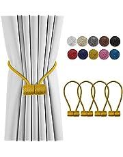 DELISIx Magnetic Curtain Tiebacks Drapery Holdbacks