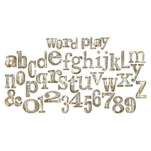 CREATIV DISCOUNT® NEU Sizzix Bigz XL XL XL Schablone, 2,5x5,1cm, Alphabet B07JX6PGFH | Vogue  8ef94d