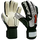 Rinat Evolution Spines Goalkeeper Glove (SILVER/BLACK, 8)