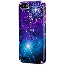 Speck Products CandyShell Inked Case for iPhone SE/5/5S - Galaxy Purple/Revolution Purple