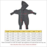 Ecoable Baby Fleece Snowsuit: Thermal Footed