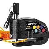 Favoto Disc Lock Alarm, 110 dB Alarm Sound Disc