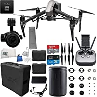 DJI Inspire 2 Premium Combo with Zenmuse X5S and CinemaDNG and Apple ProRes Licenses Videographer 480G Starters Bundle