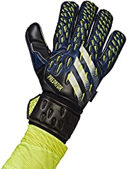 adidas,Unisex Glove MTC Fingersave Gloves,Black/Team Royal Blue/Solar Yellow/White,11.5