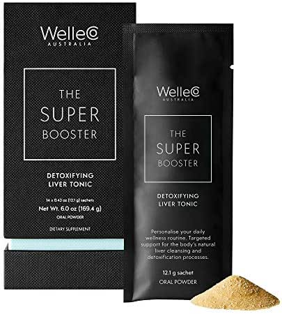 WelleCo - The Super Booster Natural Detoxifying Liver Tonic (Sachet 14 Pack)