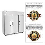 3 Door Commercial Refrigerators, ATOSA Top Mount