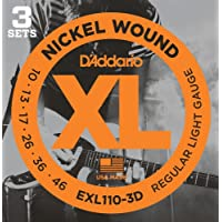 D'Addario EXL110-3D XL Nickel Wound Electric Guitar...
