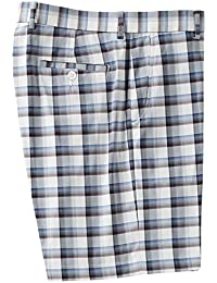 Mens Stewart Plaid Tech Short
