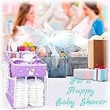 Hanging Diaper Caddy - Diaper Organizer for Crib