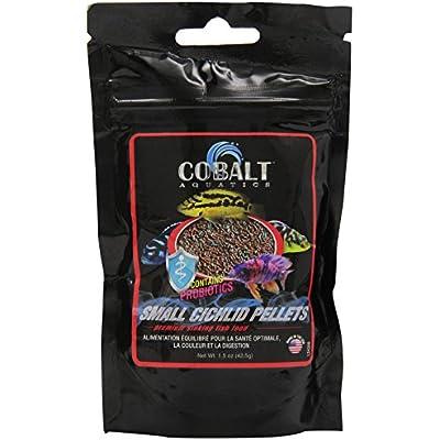Click for Cobalt International ACI24200 Cobalt Cichlid Pellet, Small, 1.5-Ounce
