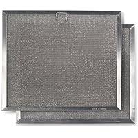 Broan BPRPFA Grease Replacement Filter, Aluminum, 2-Pack