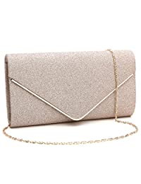 64bf69bde5 Labair Womens Shining Envelope Clutch Purses Evening Bag Handbags for  Wedding and Party
