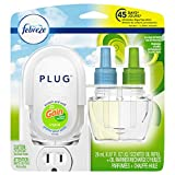Febreze PLUG Air Freshener, Scented Oil Refill and Oil Warmer, Gain Original Scent, 1 count, Packaging May Vary