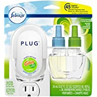 Febreze Plug Odor-Eliminating Air Freshener, Scented Oil Refill and Oil Warmer, Gain Original Scent, 1 count