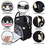 Diaper Bag Backpack, KABAQOO Large Baby Travel