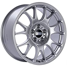 "BBS CH Diamond Silver Wheel with Painted Finish (17x8.5""/5x120mm, +38mm offset)"