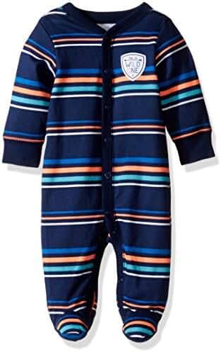 Carter's Baby Boys Interlock 115g219, Blue, 3M