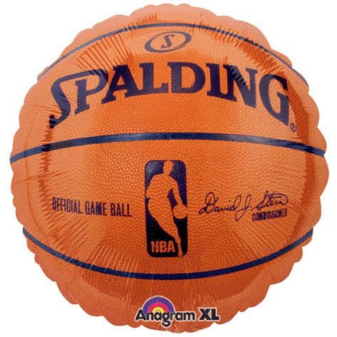 Nba Spalding Basketball Mylar by Unknown