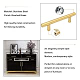 10Pack Gold Cabinet Drawer Pulls Kitchen Hardware