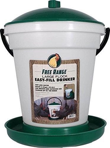 Harris Farms Poultry Drinker EZ Fill, 6.25 gallon