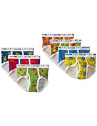Fruit of the Loom Days of the Week Brief, Assorted Prints, 4T(Pack of 7)