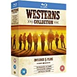 Westerns Collection (Pale Rider / The Wild Bunch / Rio Bravo / How The West Was Won / The Searchers) [Region Free] by Warner
