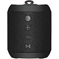 Sbode Bluetooth Speaker Portable Waterproof Outdoor Wireless Shower Speakers, 12W Stereo Sound, Sync Together, Built in Mic, TF Card, Auto Off, FM Radio for Beach, Party, Home - Black