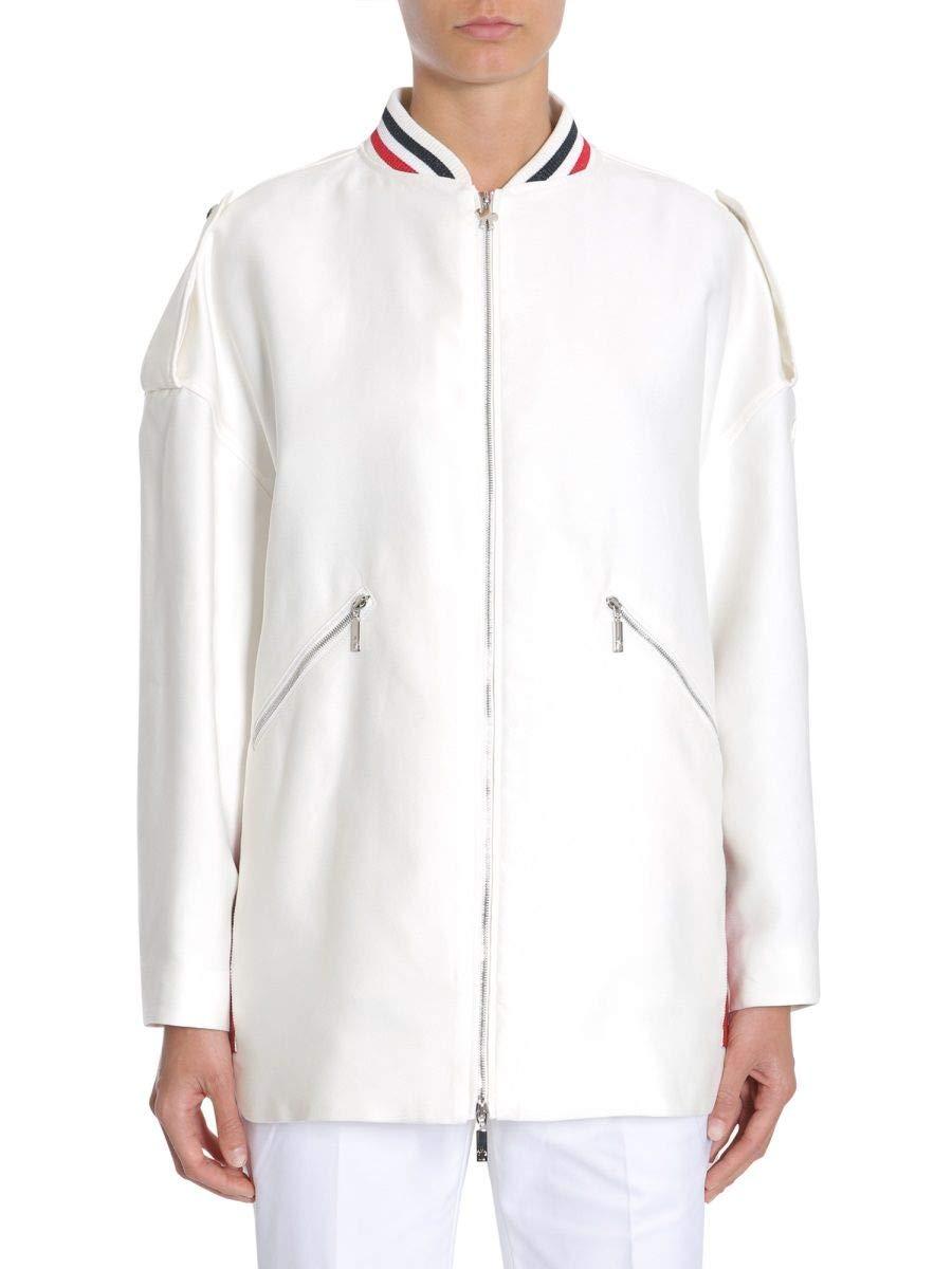 Moncler Women's 461600026983002 White Cotton Jacket