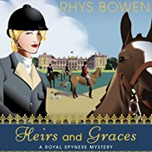 Heirs and Graces Audiobook by Rhys Bowen Narrated by Katherine Kellgren