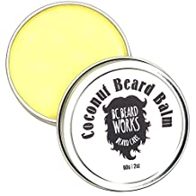 BC BEARD WORKS - Coconut Beard Balm - You Can Style And Mold Your Beard In Minutes - Condition And Groom With The Knowledge You Are Not Damaging Your Beard - Premium Product - All Natural Ingredients