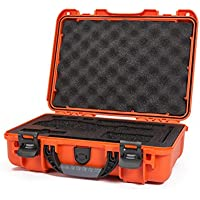 Nanuk DJI Osmo Waterproof Hard Case with Custom Foam Insert for DJI Gimbal Stabilizer Systems Including Osmo, Osmo+ and Osmo Mobile  - 910-OSM13 Orange