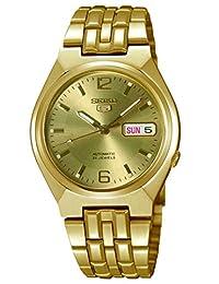 Seiko SNKL64 Men's Wrist Watches, Automatic Gold