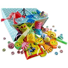 Gabe & Ko 120 Piece Party Favor Assortment for Kids Birthday parties - Goody Bags - Pinata Filler - Classroom Prizes - For Boys and Girls