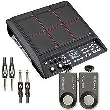 Roland SPD-SX Percussion Pad with RT-30K & RT-30HR Acoustic Drum Trigger, Cable - Bundle