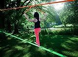 flybold Slackline Kit with Training Line Tree