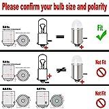Yoper BA9S 53 57 1895 64111 LED Light Bulb for