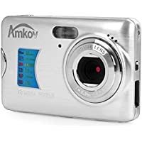 Amkov AMK-CDFE Mini Digital Camera 18 Megapixel 2.7 Inch Display Mini Portable High-definition Shooting Camera Pocket Camera